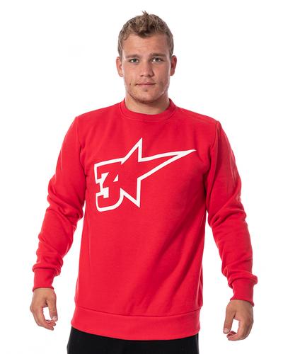 Bluza 3maj Fason Star Czerwona