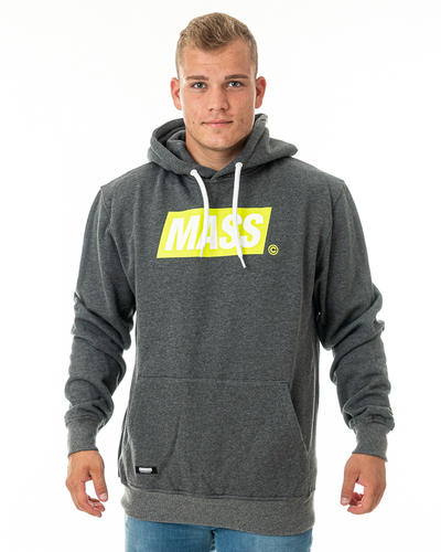 Bluza Hoodie Mass Big Box Grey