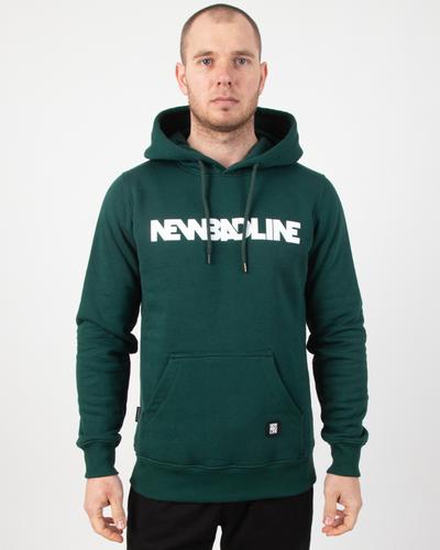 Bluza Hoodie New Bad Line Classic Green