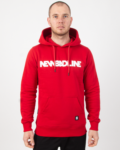 Bluza Hoodie New Bad Line Classic Red