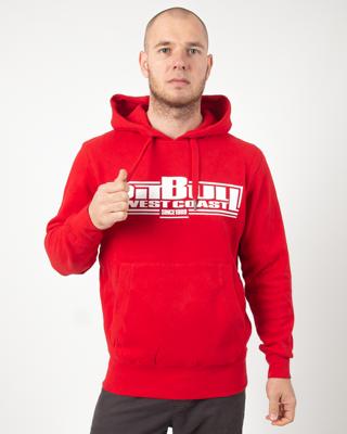 Bluza Hoodie Pitbull Boxing19 Red