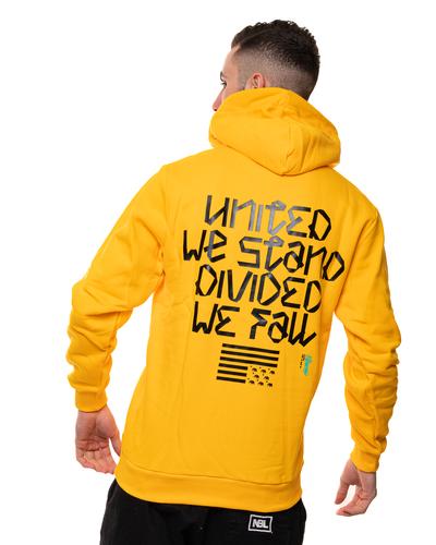 Bluza Z Kapturem El Polako Uwsdwf Yellow