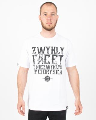 Koszulka Chada Facet White
