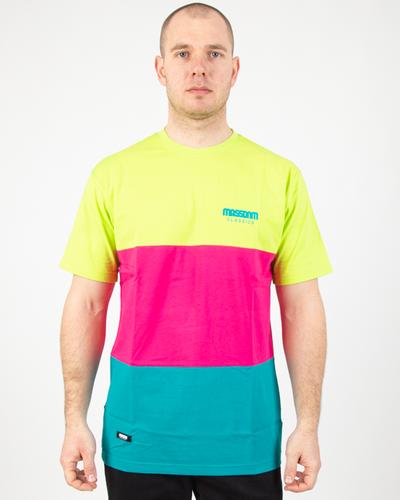 Koszulka Mass Zone Mint-Pink