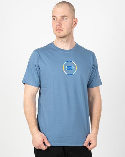 Koszulka Ssg Circle Colors Blue