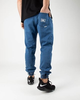 New Bad Line Spodnie Jeansy Jogger Icon Light