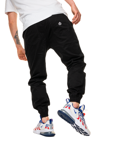 Spodnie Chino Jogger Elade Icon Mini Logo Black