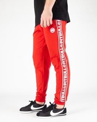 Spodnie Dresowe Pit Bull F.Terry Small Logo Red