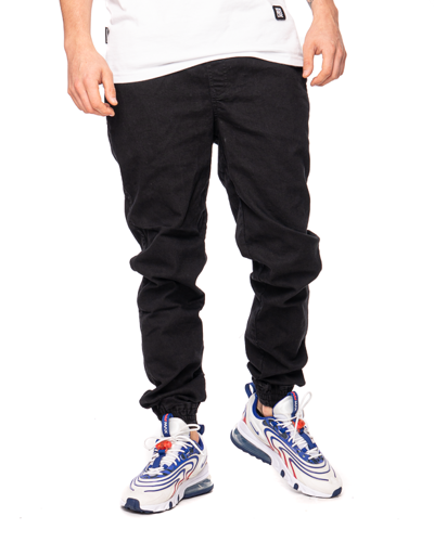 Spodnie Jeans Jogger Patriotic Futura Mini Czarne
