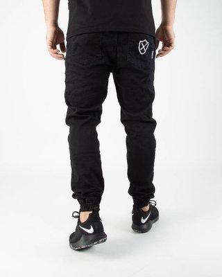 Spodnie Oponent Chino Jogger Shield Black