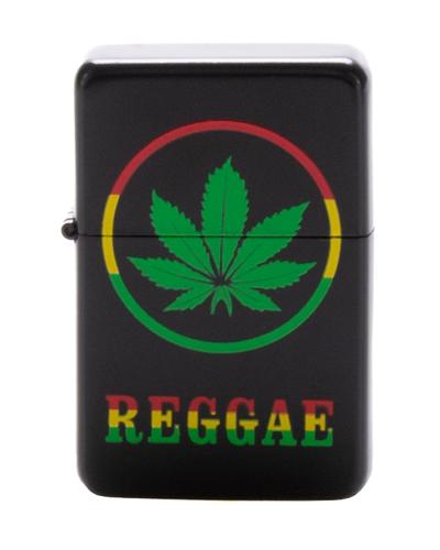 Zapaliczka Metalowa Reggae Black 51
