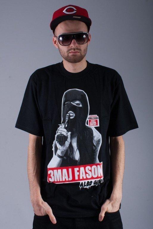3MAJ FASON KOSZULKA 3MF BABKA BLACK