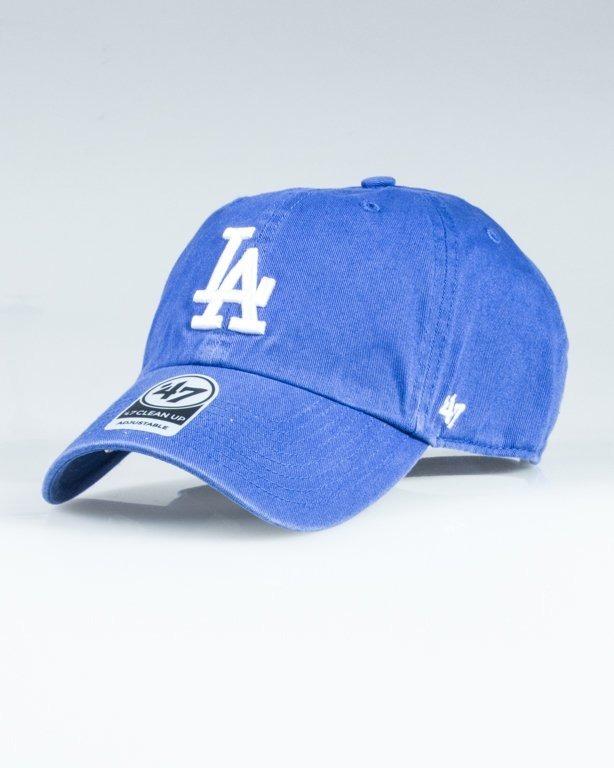 47 BRAND CAP MLB LOS ANGELES DODGERS CLEAN UP BLUE