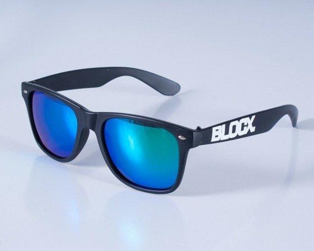 BLOCX OKULARY BLACK MAT COL