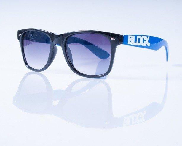 BLOCX OKULARY BLOCX BLACK-BLUE