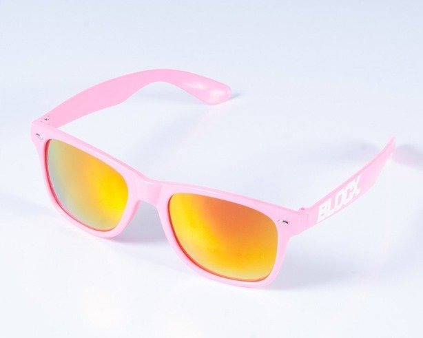 BLOCX OKULARY CLASSIC PINK COL
