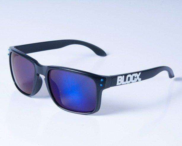 BLOCX OKULARY FREESTYLE BLACK-BLUE COL
