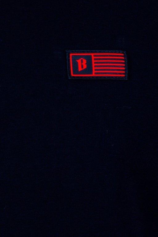BOR HOODIE LINES BLACK