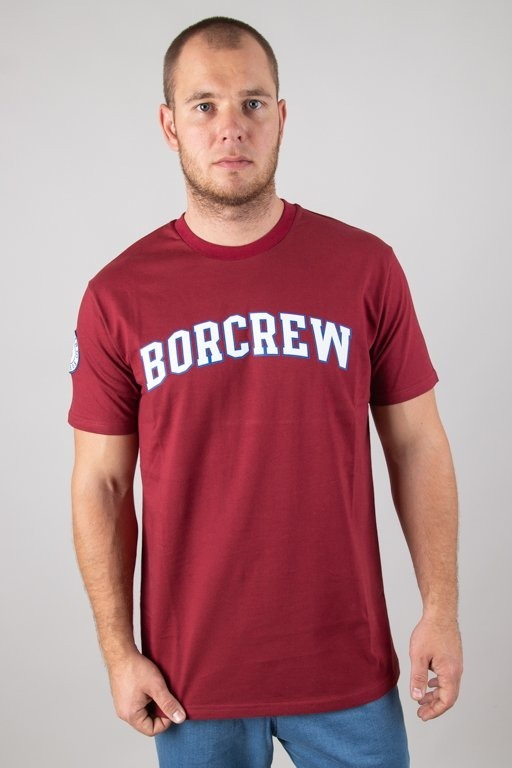 BOR T-SHIRT COLLEGE BRICK