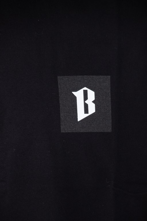 BOR T-SHIRT KWADRAT BLACK