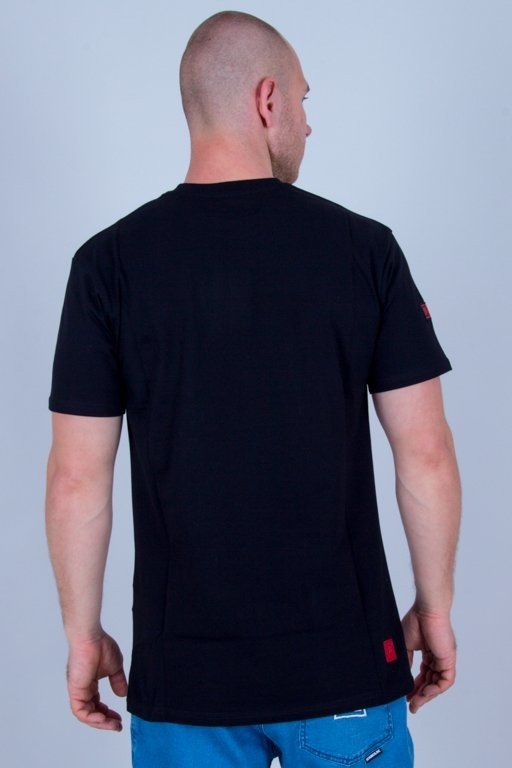 BOR T-SHIRT LINES BLACK