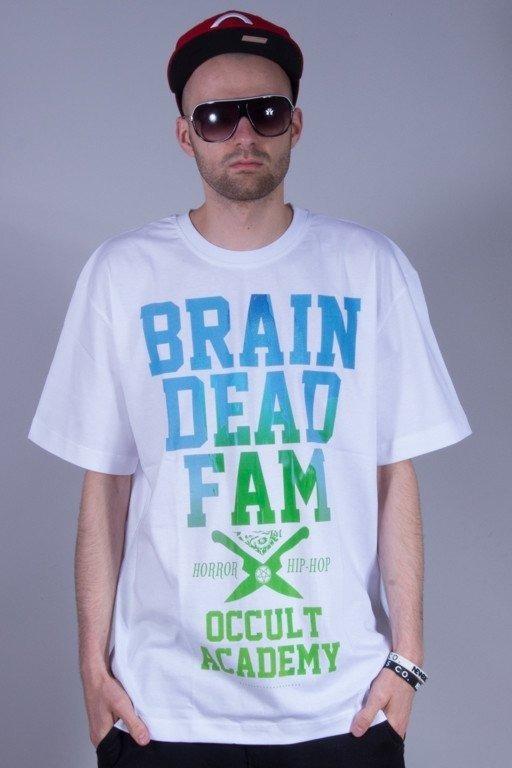 BRAIN DEAD FAMILIA KOSZULKA OCCULT WHITE-BLUE