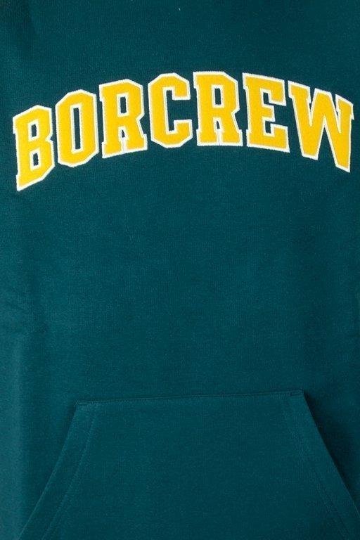 Bluza Bor College Reglan Green-Yellow
