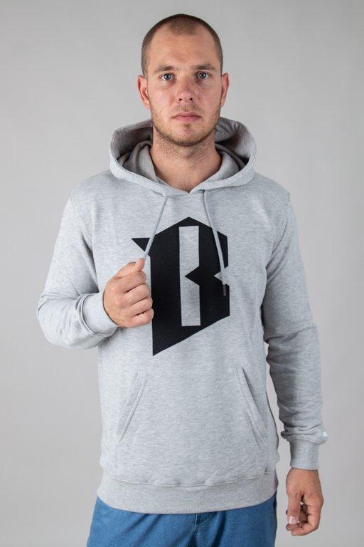Bluza Bor Hoodie B Grey