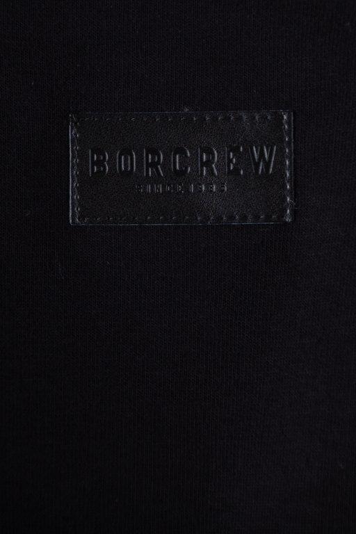 Bluza Bor Hoodie New Outline  Black