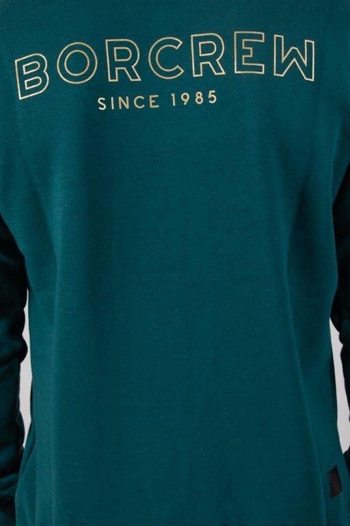 Bluza Bor Outline Borcrew Green