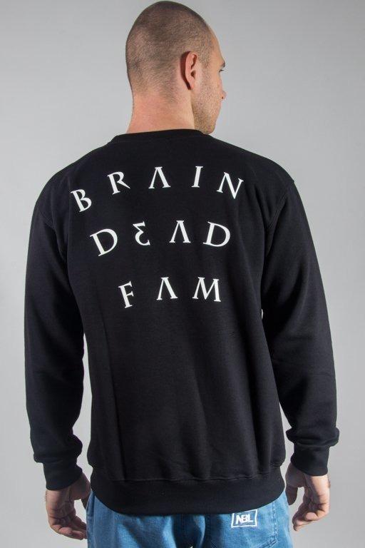 Bluza Brain Dead Familia Note Black
