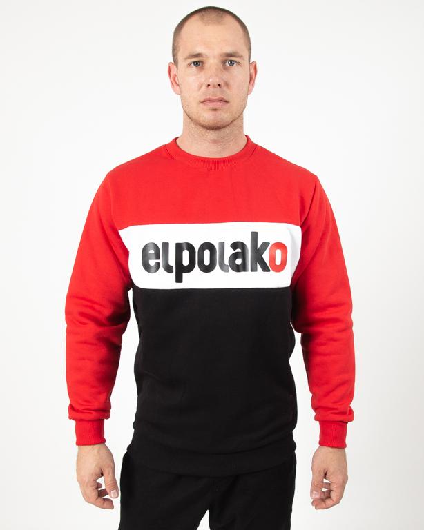 Bluza El Polako Elpo New Red-Black