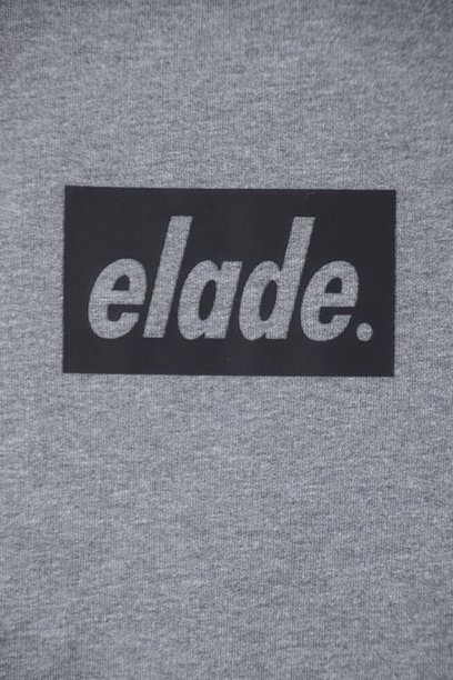 Bluza Elade Box Logo 3d Grey