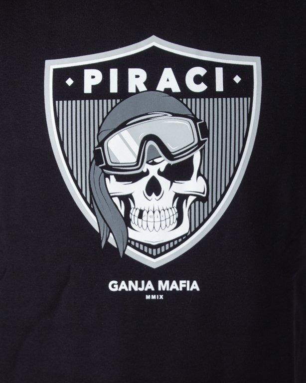 Bluza Ganja Mafia Piraci Black