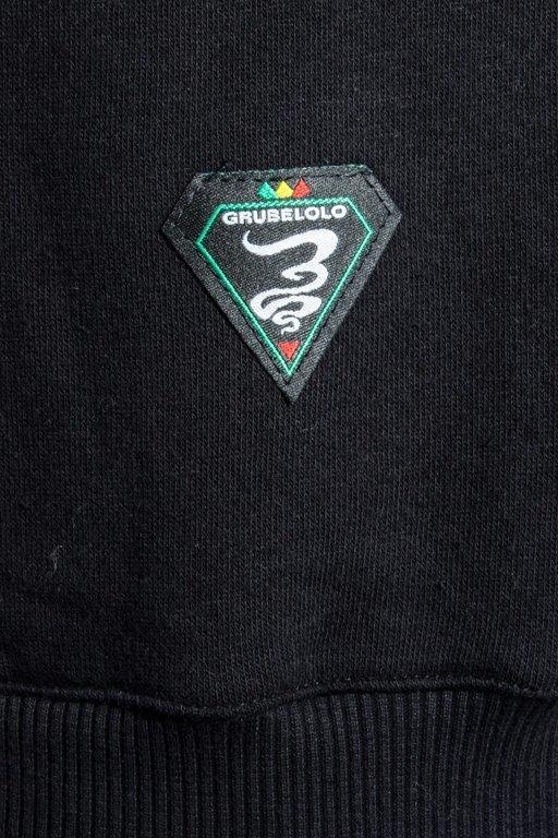 Bluza Grube Lolo Logo Full Ganja Black