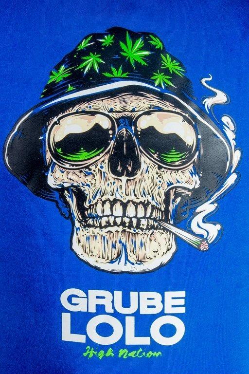 Bluza Grube Lolo Skull Blue