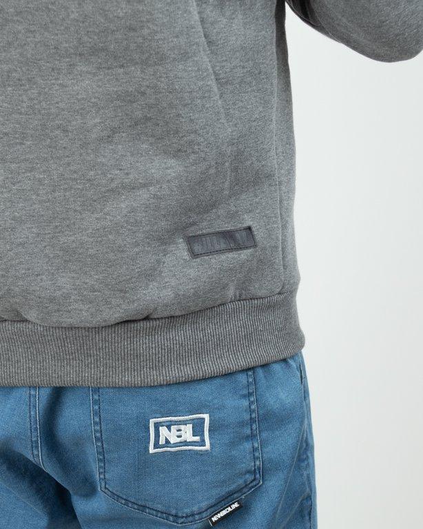 Bluza Hoodie Illegal New Kastet Grey