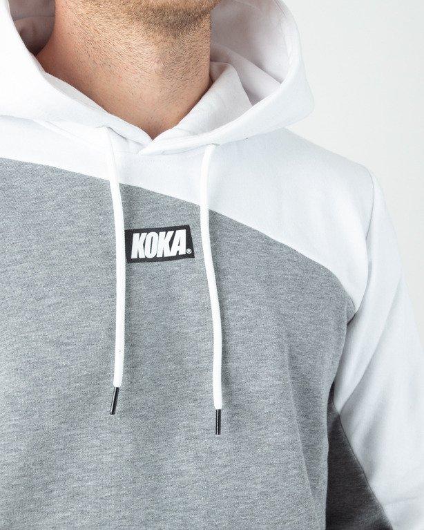 Bluza Hoodie Koka Connected Grey