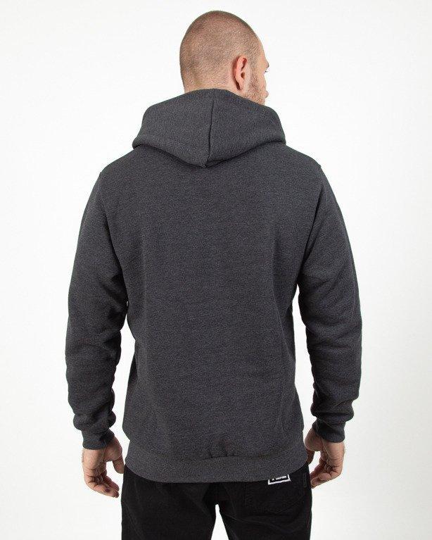 Bluza Hoodie Patriotic Tag Box Grey-Black