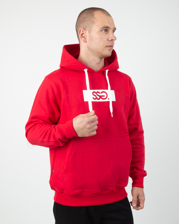 Bluza Hoodie Ssg Belt SSG Red