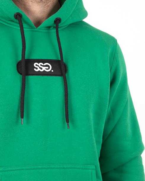 Bluza Hoodie Ssg Small Logo Green
