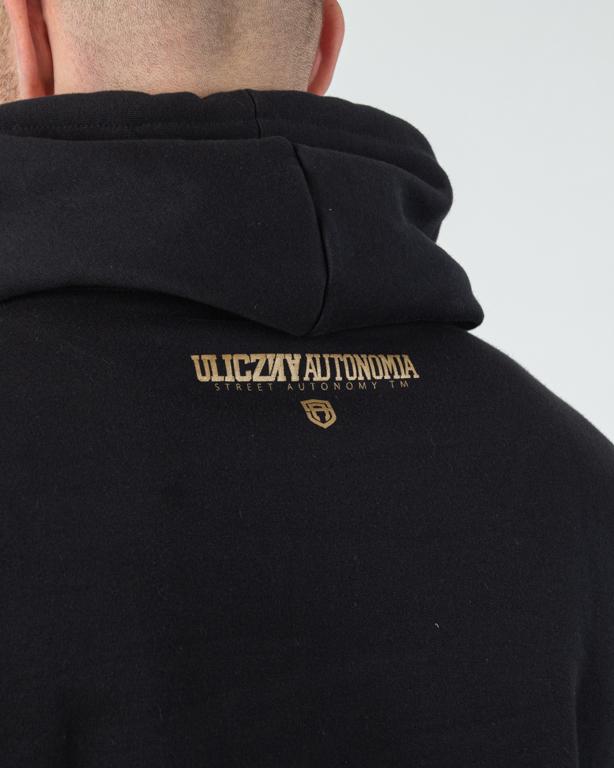 Bluza Hoodie Street Autonomy Ua Black-Gold