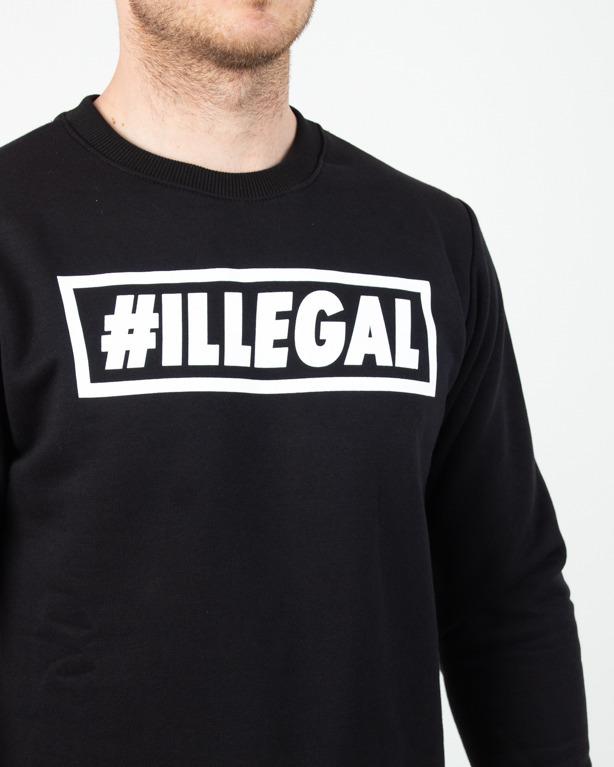 Bluza Illegal Klasyk Black