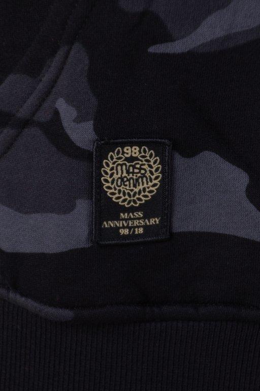 Bluza Mass Hoodie Base Black Camo