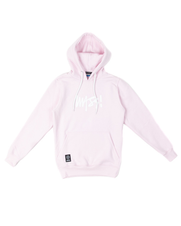 Bluza Mass Hoodie Woman Signature Medium Logo Pink