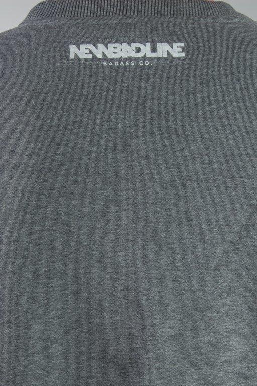 Bluza New Bad Line Crime Grey