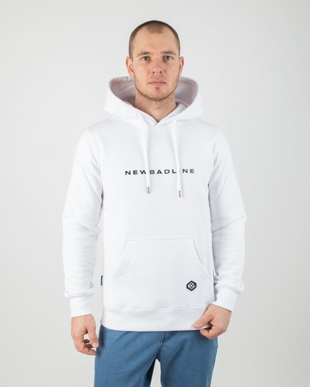 Bluza New Bad Line Hoodie Circle White