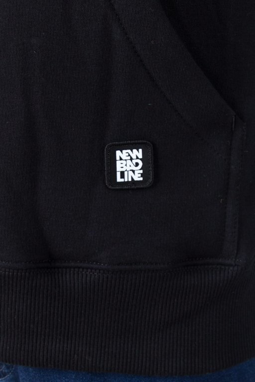 Bluza New Bad Line Hoodie Romb Black