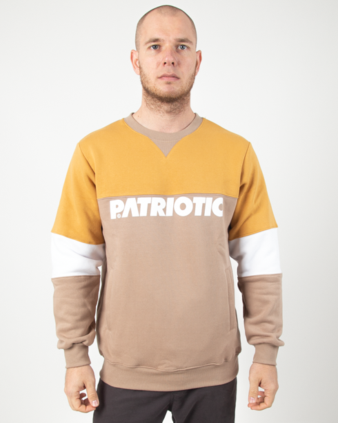 Bluza Patriotic Futura Shoulder Beige