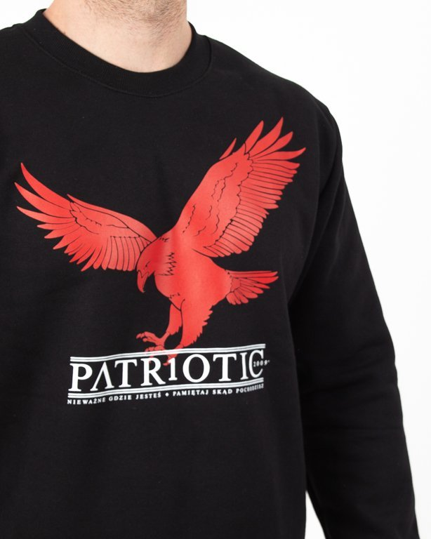 Bluza Patriotic Red Eagle Black
